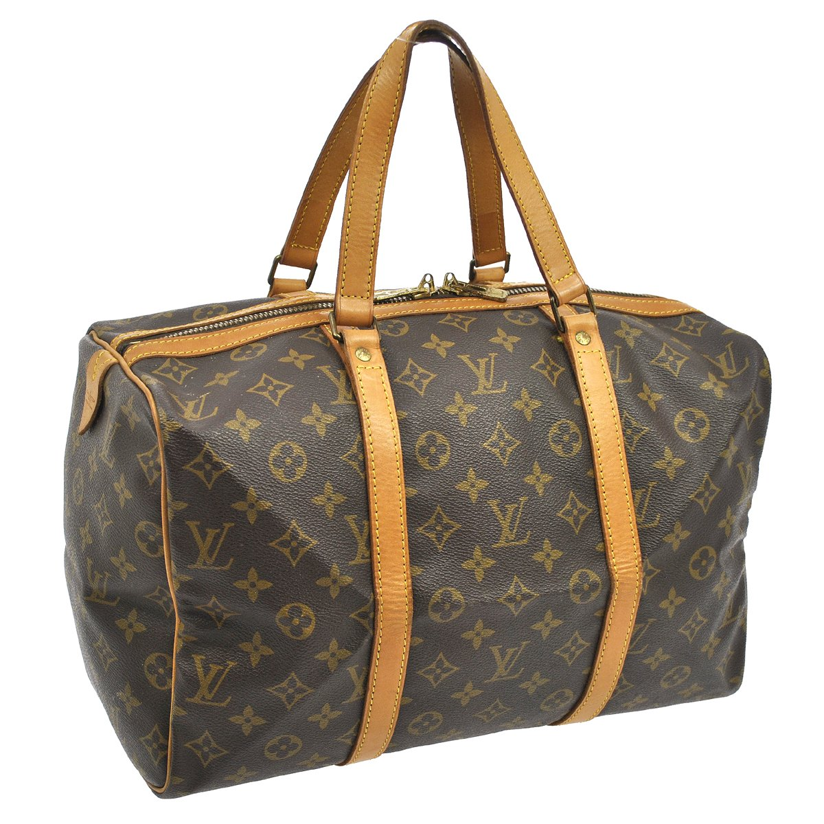 louis vuitton vintage sac souple 35 monogram my frugal fashionista. Black Bedroom Furniture Sets. Home Design Ideas
