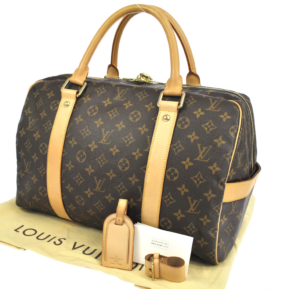 louis vuitton monogram canvas carryall weekend travel bag my frugal fashionista. Black Bedroom Furniture Sets. Home Design Ideas